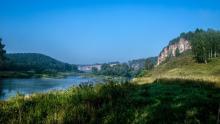 Сплав по Юрюзани на Южном Урале